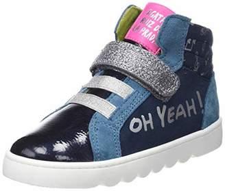 Agatha Ruiz De La Prada Girls' 181951 Ankle Boots, Blue (Ultrasuede), 10UK Child