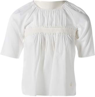 Christian Dior White Cotton Top