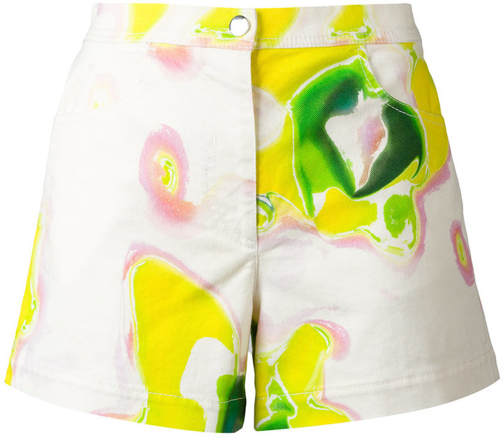 IcebergIceberg tie dye shorts