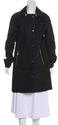 MICHAEL Michael Kors Water-Resistant Knee-Length Coat w/ Tags
