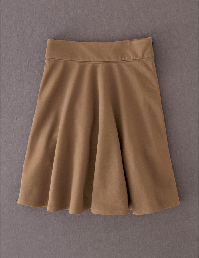 Boden Ponte Skater Skirt