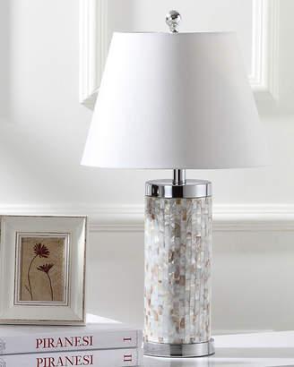 Safavieh Diana Capiz Shell Column Table Lamps Set of 2