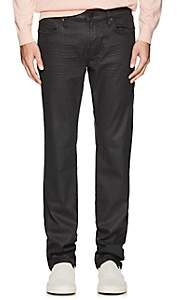 J Brand MEN'S KANE WAXED STRAIGHT JEANS