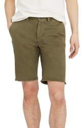 Madewell Raw Hem Chino Shorts