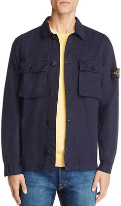 Stone Island Flap Pocket Shirt Jacket - 100% Exclusive $380 thestylecure.com