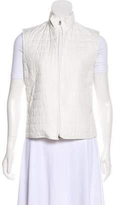 Max Mara Lightweight Zip-Up Vest