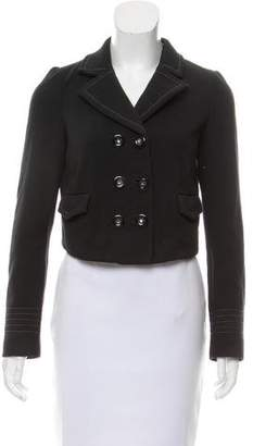 Rebecca Taylor Double-Breasted Crop Jacket
