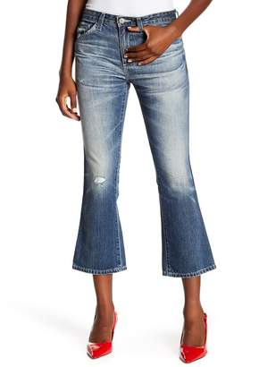 AG Jeans Jodi High-Rise Slim Fit Cropped Flare Leg Jeans