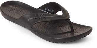 Crocs Black Kadee Flip Flops