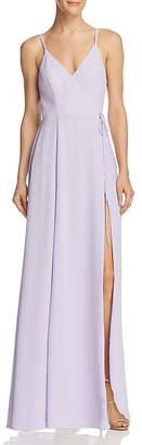 Fame & Partners The Tilbury Wrap Gown - 100% Exclusive