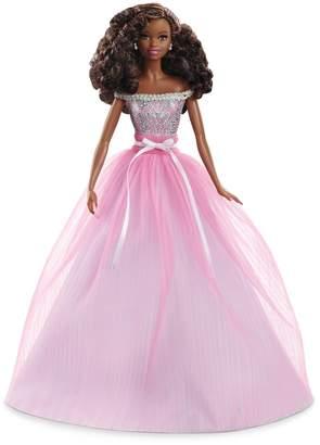 Barbie Birthday Wishes Brunette Hair & Green Eyes Doll