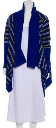 Yigal Azrouel Knit Patterned Cardigan