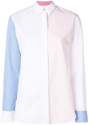Paul Smith Black Label colour-block shirt