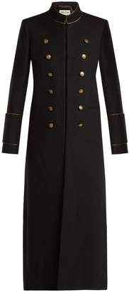 Saint Laurent Doouble-breasted wool military coat