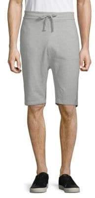 Jet Lag Drawstring Cotton Knit Shorts