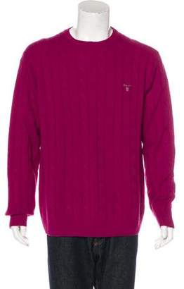 Gant Lambswool Cable Knit Sweater