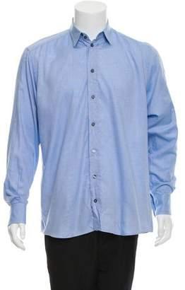 Dolce & Gabbana Knit Pique Dress Shirt