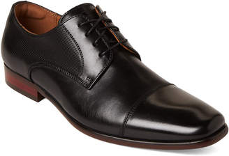 Florsheim Black Scottsdale Leather Derby Shoes