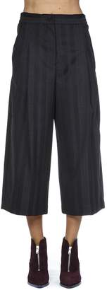 McQ Striped Pattern Cropped Trousers