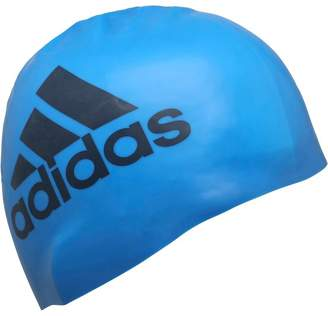 adidas Silicon Graphic Swim Cap Shock Blue/Mineral Blue