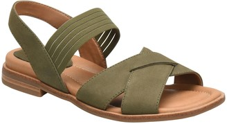 Comfortiva Stretch Strap Sandals - Dixie