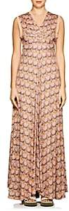 "Chloé Women's ""Owl Eye""-Print Maxi Dress - Pink, Org"