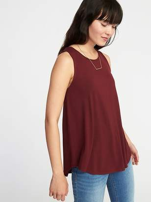 Old Navy Luxe High-Neck Swing Tank for Women