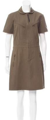 Derek Lam Short Sleeve Mini Dress