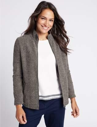 Marks and Spencer Boucle Fleece Jacket