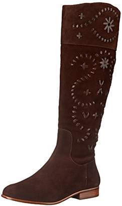 Jack Rogers Women's Tara Suede Riding Boot