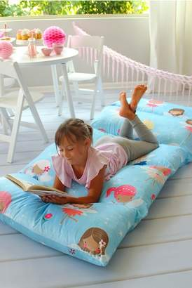 Heart to Heart Fairy-Themed Floor Pillow Fold-Out Lounger Cover