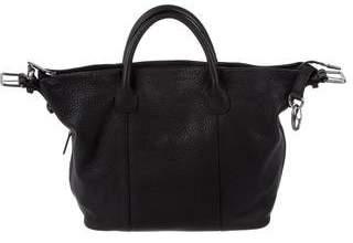Giorgio Armani Classic Leather Satchel