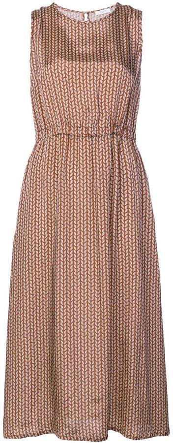 graphic print dress