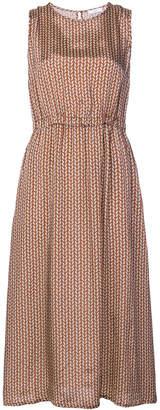 Peserico graphic print dress