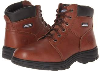 Skechers Workshire - Relaxed Fit Men's Lace-up Boots