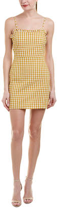 Cotton Candy Gingham Shift Dress
