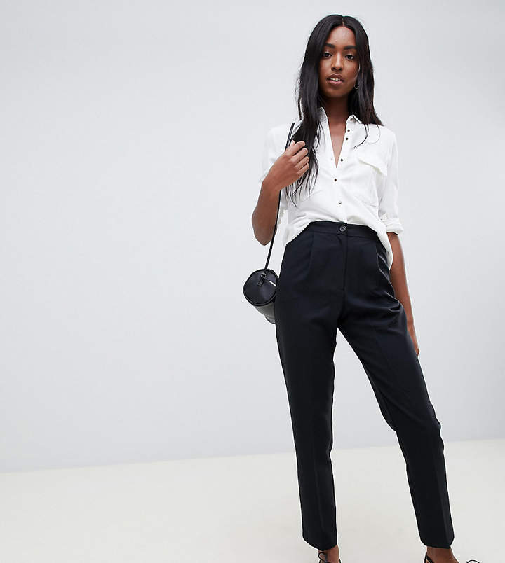 ASOS DESIGN Tall elasticated clean tapered PANTS