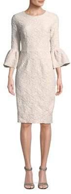 Betsy & Adam Jacquard Shift Dress