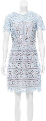 Reiss Lace Knee-Length Dress $175 thestylecure.com