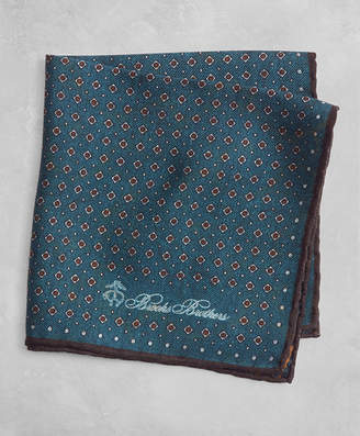 Brooks Brothers Golden Fleece Dot and Paisley Pocket Square