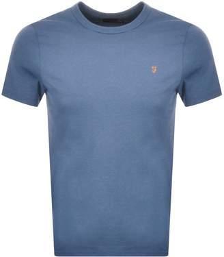 Farah Dennis T Shirt Blue