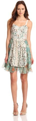 Anna Sui Women's Flilgree Print Dress