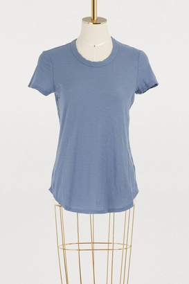 James Perse Sheer Slub crew neck T-shirt
