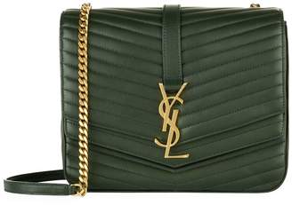 Saint Laurent Sulpice Matelasse Monogram Shoulder Bag