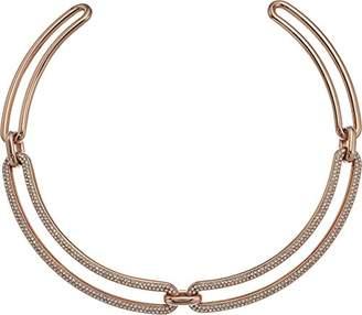 Michael Kors Brilliance Iconic Links -Tone Statement Collar Pendant Necklace
