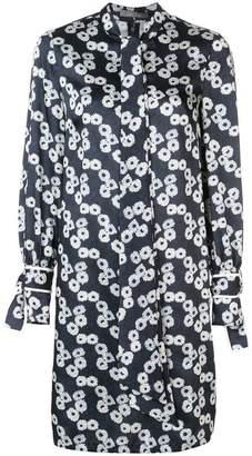 Lela Rose short printed dress