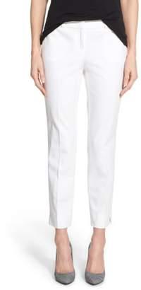 Halogen Crop Stretch Cotton Pants