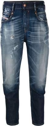 Diesel distressed boyfriend jeans