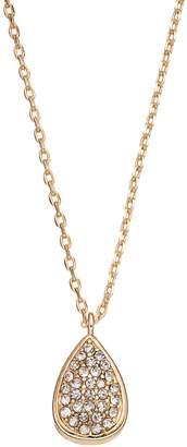 Lauren Conrad Pave Teardrop Pendant Necklace