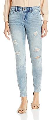 Miraclebody Jeans Miracle Body Women's Faith Skinny Leg Jean with Tummy Control Technology